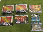 STAR WARS MICRO MACHINES PACKS RARE LIMITED DROIDS TRILOGY +++ NEW