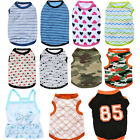 Various Summer Pet Puppy Small Dog Cat Clothes Vest T Shirt Dress Apparel Shirt