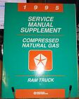 1995 DODGE RAM TRUCK COMPRESSED NATURAL GAS CNG SERVICE MANUAL SUPPLEMENT