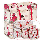 12pcs Christmas Xmas Paper Bag Goodies Cookies Holiday Party Handle Packing