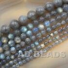 "Wholesale Smooth Natural Gemstone Round Loose Beads 15""  4mm 6mm 8mm 10mm 12mm"