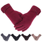 Winter Women Warm Touch Screen For Phone Windproof Gloves Full Fingers