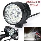 Bike Bicycle 30000Lm T6 LED Head Light Lamp Headlight Cycling Torch UK