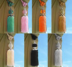 Large Tie Backs Prism Ball Tassel Curtain Rope Tieback HoldBacks