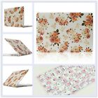 "2in1 Peony Flower Frosted Hard Case Cover for MacBook 12""/ Air Pro 11"" 13""15"""
