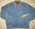 George Strait by Wrangler Lined Denim Jacket. Premium collections. M. NWT