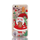 Christma Liquid Quicksand Moving Star Bling Glitter for iPhone 6/6S7/7Plus Cover