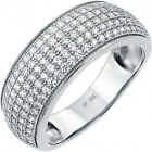 Sterling Silver Promise Engagement Wedding Forever Love Clear CZ Ring Sizes 5-11