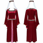 Cosplay Costume Donna Medievale Età Luis Tudor Lady Marian