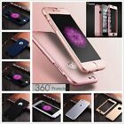 Hybrid 360° Full Protection Hard Case Cover+Tempered Glass For iPhone 7 Plus 6S