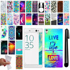 "For Sony Xperia XA Ultra 6"" TPU SILICONE Rubber Soft Protective Case Cover + Pen"