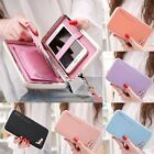 Women Lady Leather Wallet Purse Long Handbag Clutch Box Bag Phone Card Holder PU
