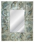 Seaside Sea Shells Motif Wall Mirror~ Available in 25 Colors