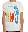 Gorillaz - Blue Noodles White T-Shirt - BRAND NEW - Official