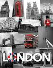 London - Collage - colourlight Städte Mini Poster Plakat Druck