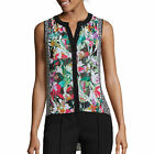 nicole by Nicole Miller High-Low Tank Top Size S New