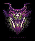 Heartless by Jehsee Maleficent Sleeping Beauty Classic Villain Canvas Art Print