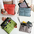 IPad Mini PC Phone Electronic Accessories Organizer Pouch Bag Container W/Handle
