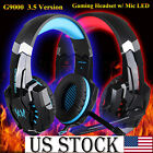 New EACH G9000 3.5mm Gaming Foldable Headset &Microphone USSTOCK For Iphone PS4