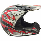 Raptor MX Off Road Helmet Black/Red Youth Sizes