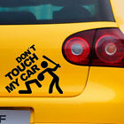 Don't Touch My Car Vinyl Decal Sticker Bumper Window Graphic Stickers Decor