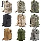 Outdoor 30L Backpack Hiking Camping Bag Army Military Tactical Trekking Rucksack
