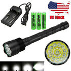 Vastfire 60000 Lumens 24x XML T6 /12 T6 LED Flashlight Torch PCB 3x18650 Light