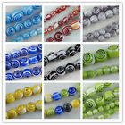 Glass Round bead Spacers 8colors-1 4mm/6mm/8mm/10m/12mm P270-P309