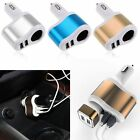 3.1A Car Charger Adapter Dual Mini USB 2-Port Cigar Lighter For iPhone Samsung