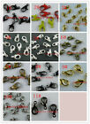 50pcs Lobster Parrot Clasps 7x12mm,Gold,Silver etc. H135-H142
