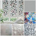 Adhesive Frosted Stained Window Film Glass Cover Privacy Home Decor 45*200cm