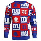 Forever Collectibles NFL Men's New York Giants 2016 Patches Ugly Sweater