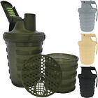 Grenade 20 oz. Shaker Blender Mixer Bottle with 600ml Protein Cup Compartment $9.95 USD on eBay