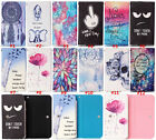 NEW Cartoon Flower Leather slot wallet pouch case skin cover For Lenovo 6#5