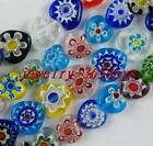 Jewelry Making Glass Mixed Heart Spacers 10mm-14mm P173-P176