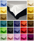 Cotton Blend FLAT BED SHEETS Non Iron Easy Care Single, Double, Super King