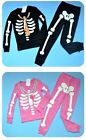 NWT Gymboree SKELETON Halloween Costume 2011 Pajamas Adult/Dad/Daddy/Mom/Mommy
