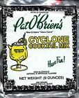 New Orleans Pat O'brien's Cyclone Cocktail Mix 5 Packs French Quarter Drink Mix