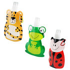 Kids Drinks Bottle Travel Sports Clip On Drinking Water Juice School Collapsible