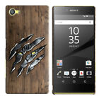 "For Sony Xperia Z5 Compact 4.6"" HARD Protector Back Case Phone Cover + PEN"
