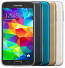 Unlocked - Samsung Galaxy S5 SM-G900V - 16GB - 16MP SMARTPHONE BLACK WHITE GOLD