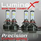 120W 14400LM 9006 9006 CREE LED Headlight Foglight Kit 4pcs Combo Canbus 6000K
