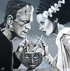 Amorous Libation by Mike Bell Frankenstein Bride Tiki Cocktail Giclee Art Print