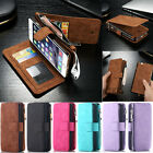 Leather Removable Wallet Flip Card Slot Men Classic Case Cover for iPhone 7 6