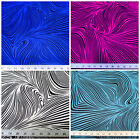 Discount Fabric Printed  Spandex Stretch Abstract Zebra Choose Your Color PS