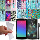 For LG Spirit H443 TPU SILICONE Bumper Protector Case Phone Cover + Pen