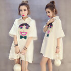 1PC Fashion Womens Ladies Loose Cotton T-Shirt Sleeve Shirt Casual Tops Blouse