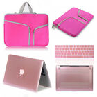 Carry Bag+Matte Hard Case+Keyboard Cover for Macbook Pro 13 Touch Bar 2016 A1706