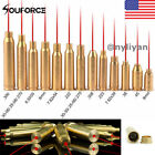 US 7 Type BoreSighter Red Laser Bore Sight Cartridge Brass W/Battery for Hunting