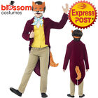 CK731 Roald Dahl Fantastic Mr Fox Boys World Book Week Fancy Dress Kids Costume